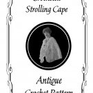 1916 Strolling Cape Crochet Pattern