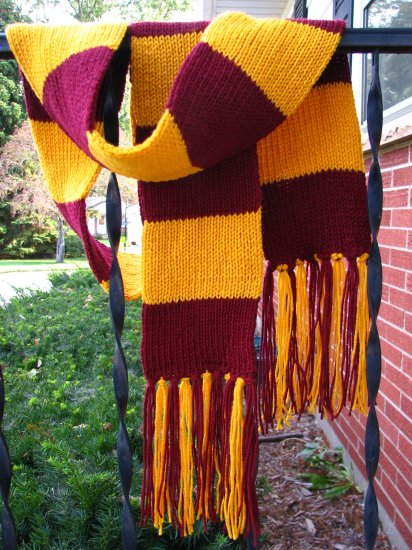 "The BIG 7 x80"" Custom Rugby Striped Scarf - college, wizard colors available"