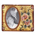 Rose Painted Photo Frame