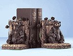 Woodsy Bear Bookends