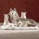 Warm Wolf Family
