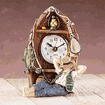 Gone Fishing Clock