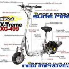 X-Treme 499 Gas scooter