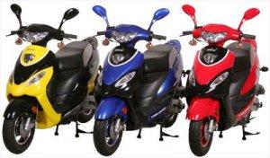 X-Treme Street Legal XM-50 Gas Moped 50cc