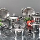 Maxam 22pc Super Cookware Set
