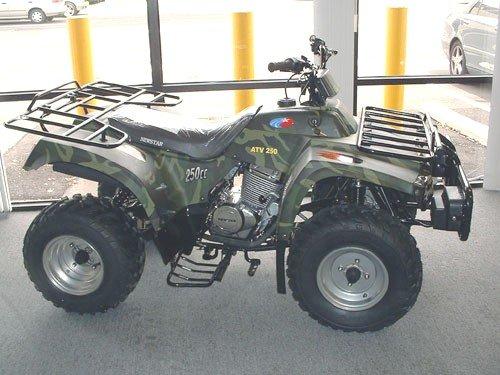 Twin Cyl ATV Model 250-III
