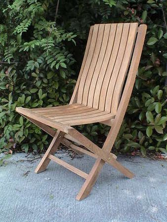 Comfort Folding Chair Teak