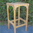 Backless Bar Chair Teak