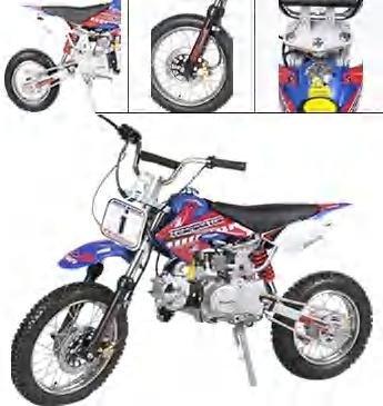 16S-110CC Dirt Bike