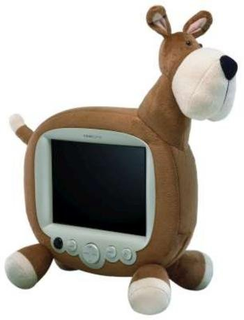Plush Dog 10in LCD TV