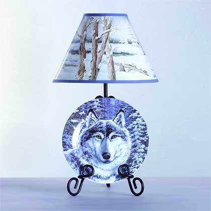 Plate and Rack Lamp