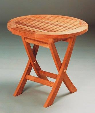 Mini Side Round Folding Table