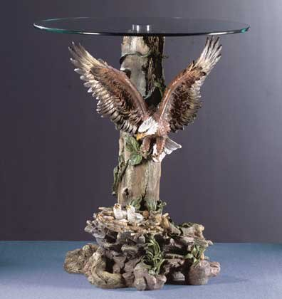 Top Glass- Table Eagle
