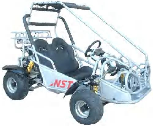 125cc Go Kart
