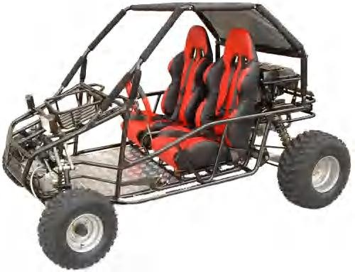 250SQ Go Kart Model