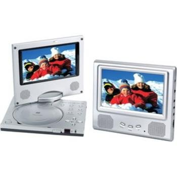 Widescreen 7in Port DVD Player-MP3 w-Extra Monitor