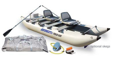 FoldCat 12 Foot Catamaran Deluxe Package