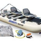 FoldCat 12 Foot Catamaran Deluxe Package