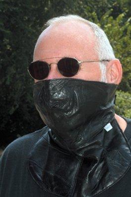 Mask and Skull Cap