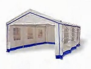 Decorative Backyard Party Tent