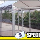Dog Kennel W-Canopy
