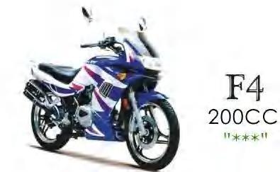 F4 200cc scooter