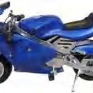 Pocketbike The Electric XP-707