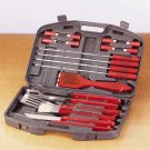 Spatula18 Pc. Barbecue Set In Case