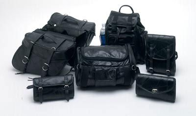 Luggage Set Leather 7pc