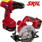 combo kit 18 Volt cordless drill and saw