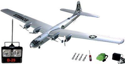Engine-4 Radio Controlled B-29 Super Fortress Bomber