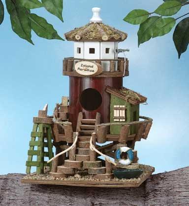 birdhouse lighthouse station
