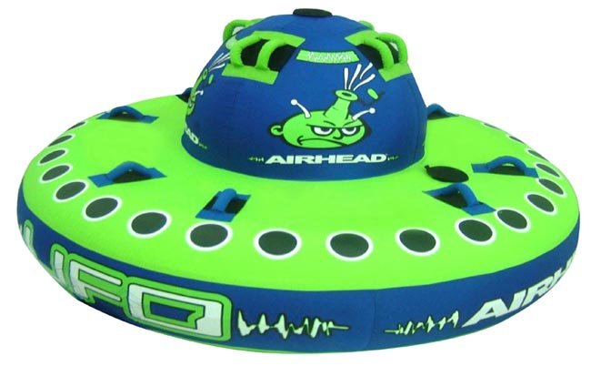 ufo 4 rider spinning towable