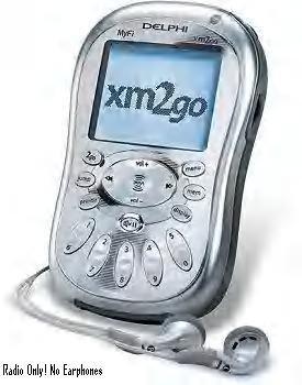 MyFi XM2GO Portable xm satellite radio receiver