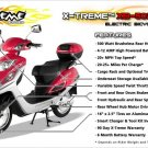 X-Treme XB-502 Electric Bicycle Moped ultimate