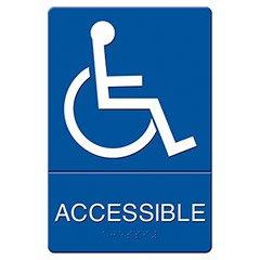 ADA Sign Handicap Accessible