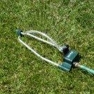 4 Setting oscillating sprinkler