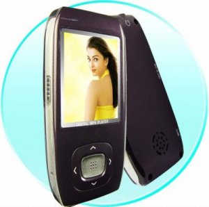 MP4 Portable Movie Player 1GB