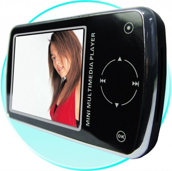 Touch Button Digital MP4 Player 1GB