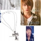 Korean Bi (Rain) & JaeJoong (DBSK/TVXQ) Classic Cross Necklace