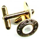 Men's Mother-of-Pearl Gemstone Cufflinks - PreciousThings.ecrater.com