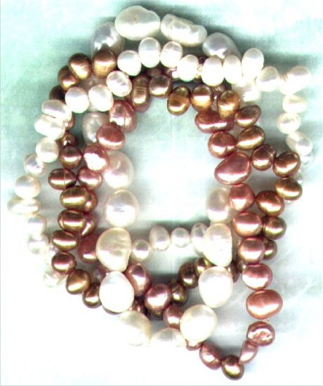 "Four Pearl Elasticated Bracelet set ""Pearl Quartet"" - PreciousThings.ecrater.com"