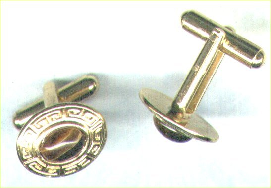 Men's Limited Edition Tiger's-Eye Gemstone Cufflinks - PreciousThings.ecrater.com