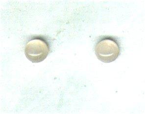 Rose Quartz Gemstone & Sterling Silver 4mm Stud Earrings - PreciousThings.ecrater.com