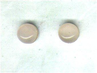 Rose Quartz Gemstone & Sterling Silver 6mm Stud Earrings - PreciousThings.ecrater.com