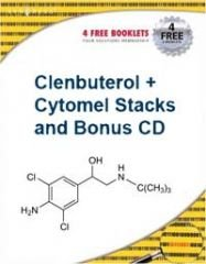 Book Clenbuterol + Cytomel Stacks + DVD