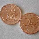 Zombucks® Slayed Dollar 1 oz Copper Round