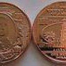 1 OZ $100 Ben Franklin Banknote Copper Round