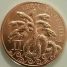 Lernaean Hydra 1 oz Copper | The 12 Labors of Hercules