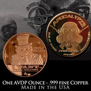 1 Ounce Rounds Uncle Walker by Apocalypze Mint